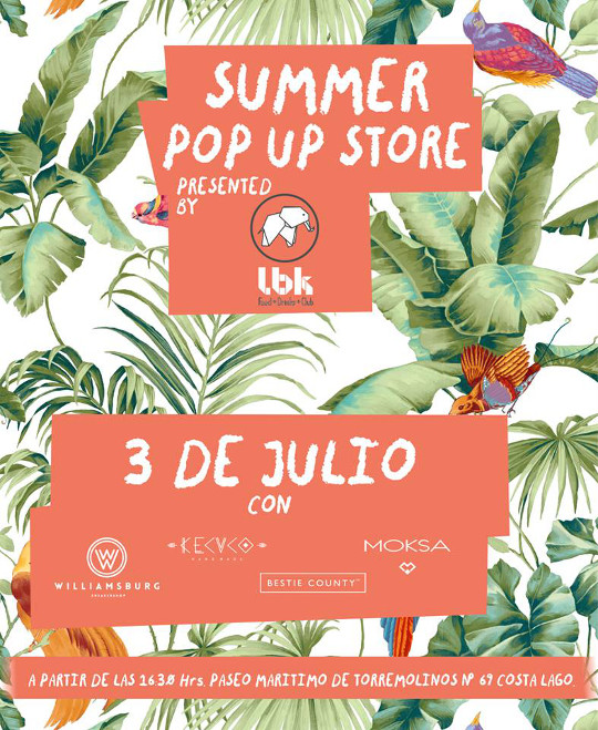 Summer pop up store en Torremolinos, 3 de julio