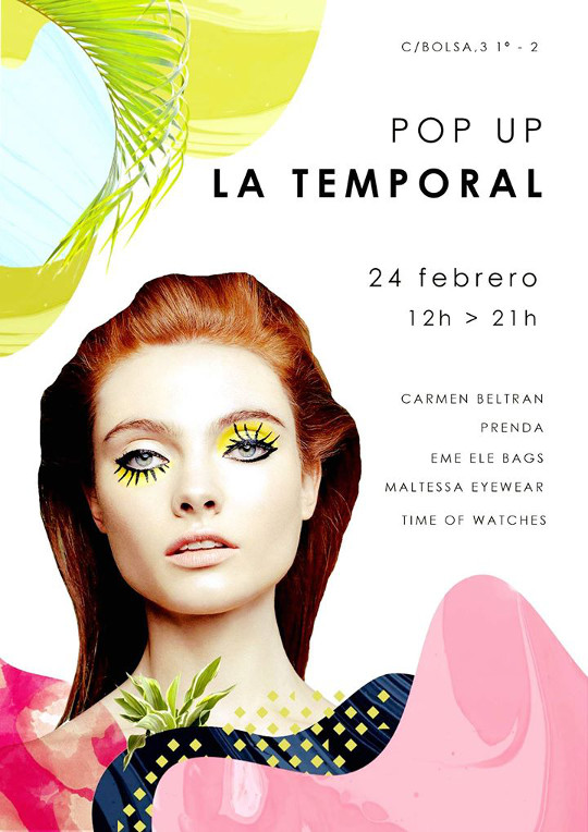 Pop up en La Temporal, viernes 24 de febrero