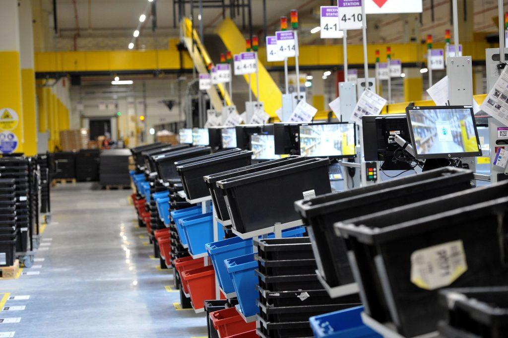 Centro logístico de Amazon en Polonia :: Efe
