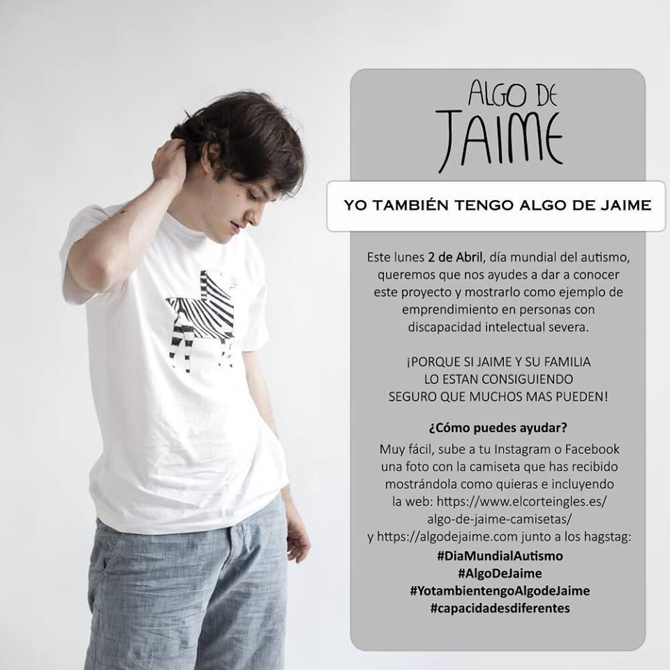 Algo de Jaime, con el 2 de abril, Día del Autismo