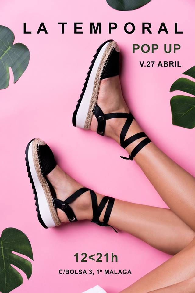 Pop up en La Temporal, viernes 26 de abril