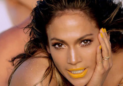 Jennifer Lopez, en el vídeoclip de Live it up