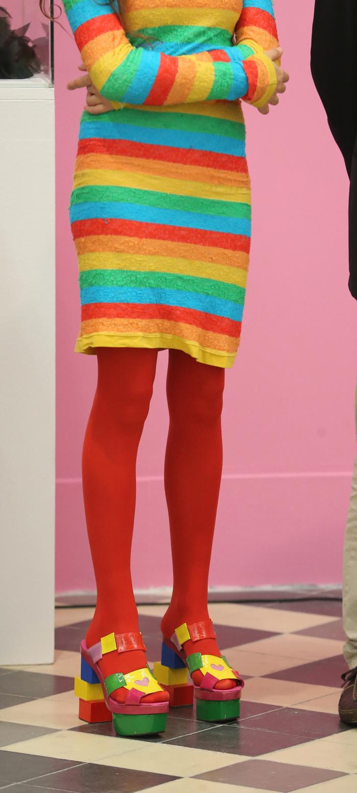 La hija de Agatha Ruiz de la Prada y Barbie se visten de Miley Cyrus ...