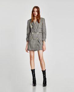 La chaqueta vestido de Zara