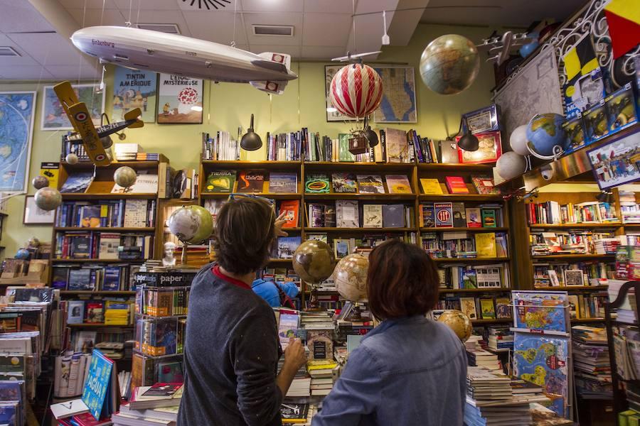 Mapas & Compañía, la gran belleza hecha librería. F. J. Acevedo