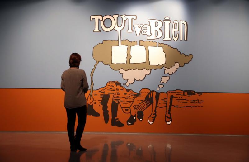 'Todo va bien', nos tranquiliza el Pompidou en su nueva exposición de larga estancia. Salvador Salas