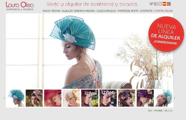 Laura Olea abrirá nueva tienda para alquilar tocados  3e7ec22adfd